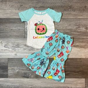 Girls boutique Cocomelon Outfit NEW